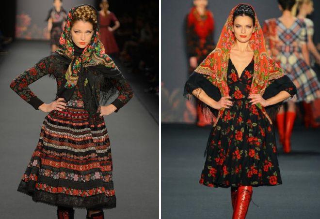 robes dans le style de ethno