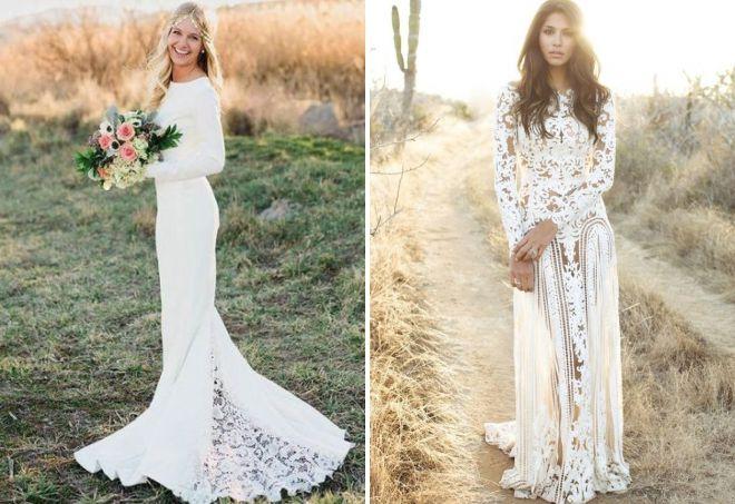 robe de mariée en style ethnique