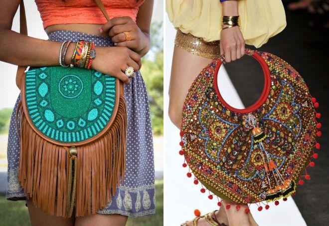 летние сумки в стиле этно