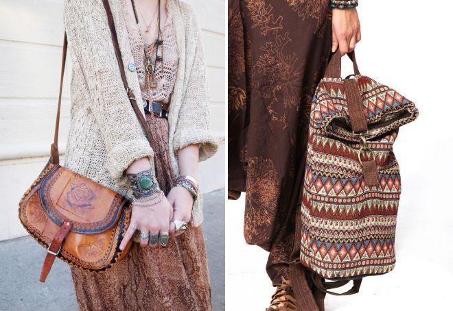 sacs de style ethnique