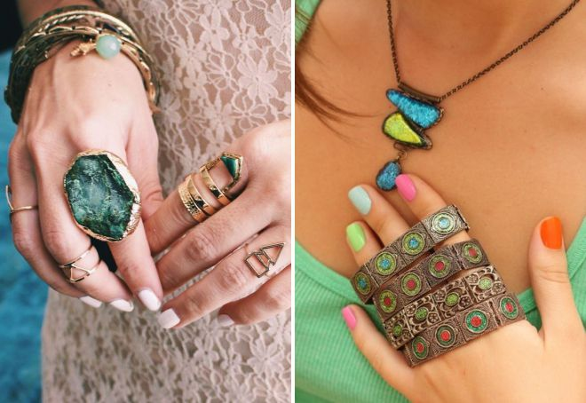 accessoires de style ethnique