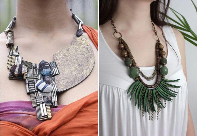 bijoux de style ethno
