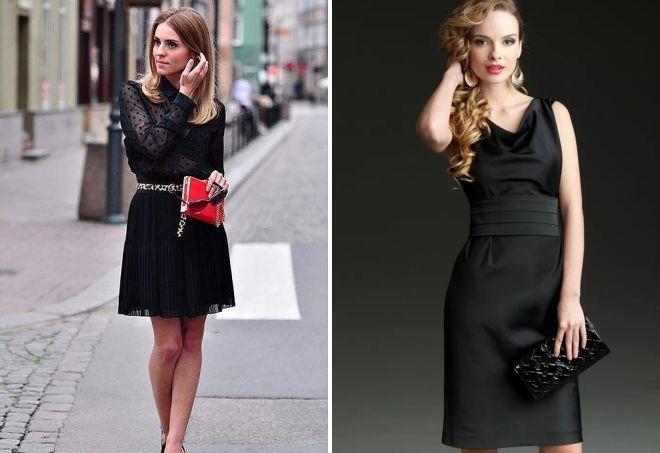 сумка под черное вечернее платье