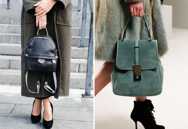 69c104ac89a9 Женские маленькие рюкзаки для девушек – кожаные и бархатные ...
