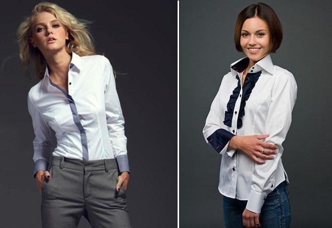 c20802f3611 Самые модные женские рубашки 2017 – белые и джинсовые