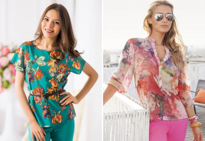 641cac6b925 Модные женские летние блузки – с коротким
