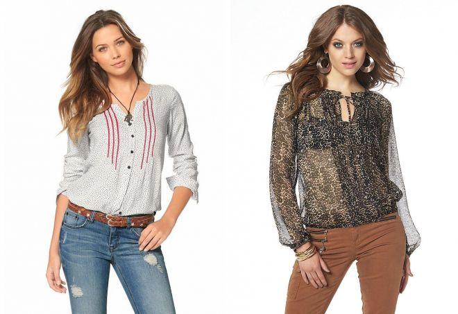 25a82679e99 Модные женские летние блузки – с коротким