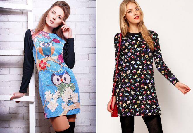330fc453296 Модные женские теплые платья на осень и зиму – повседневные ...