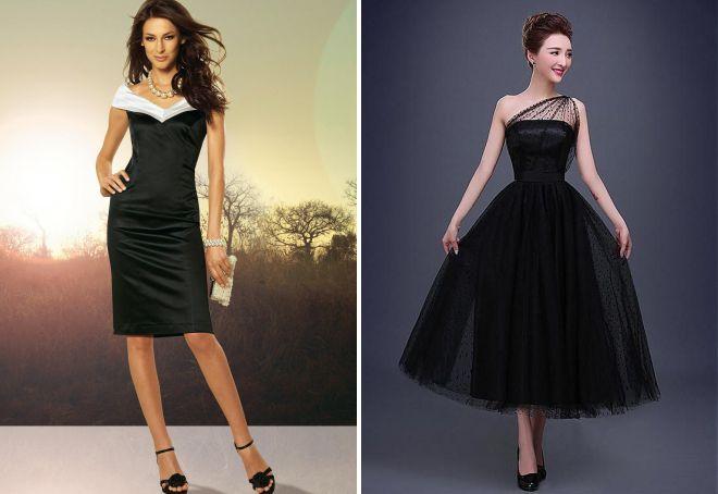 фасоны вечерних платьев для женщин