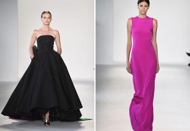 модные фасоны вечерних платьев