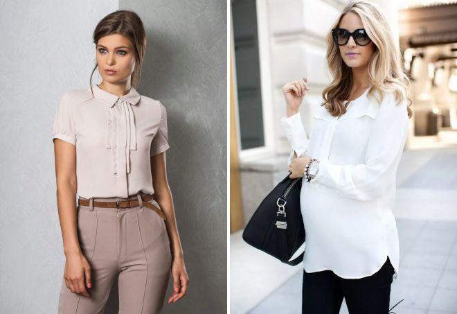 современный офисный стиль одежды для женщин