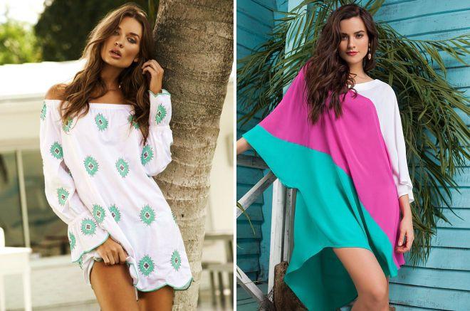 9e10128c478 Модные туники для женщин 2018 с фото с чем носить и как – Блог о ...