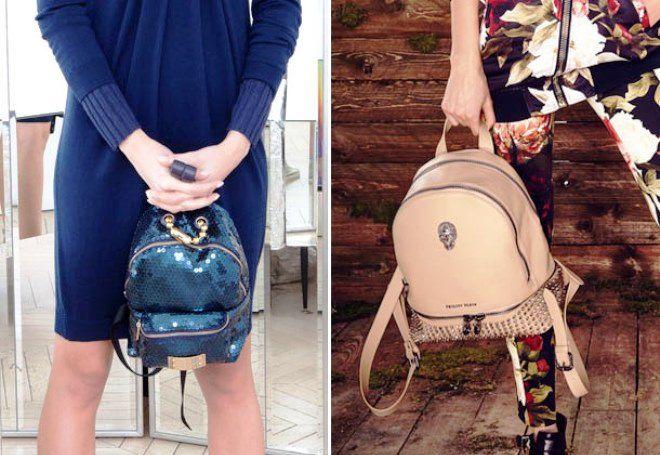 красивые модные рюкзаки