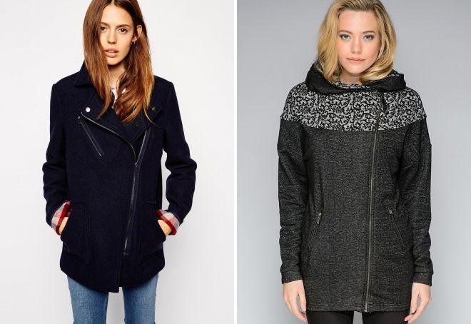 женское пальто косуха