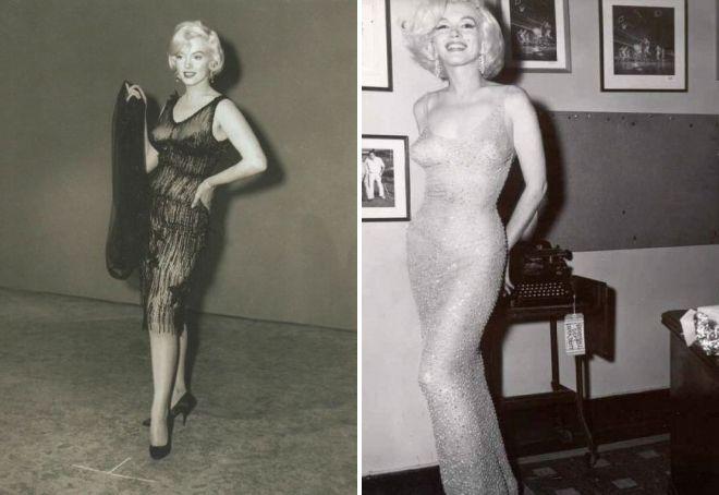 Мэрилин Монро в прозрачном платье