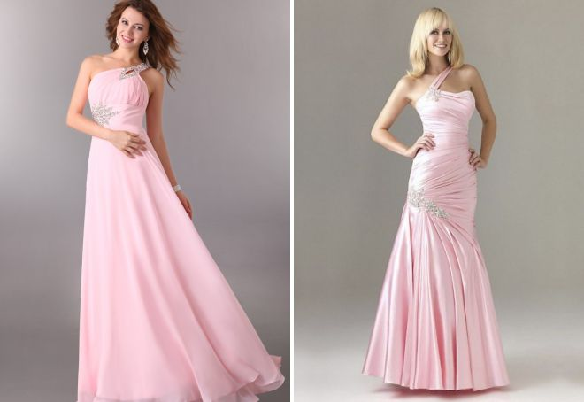 a57ac2ff61c Розовое платье – длинное в пол