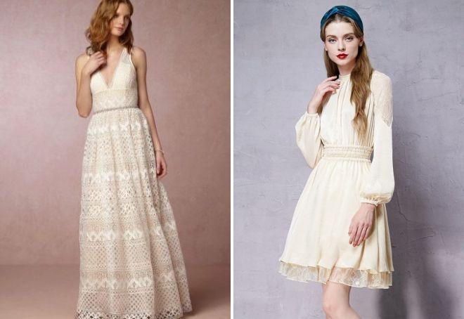 винтажные кружевные платья