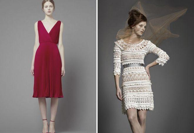 отличия винтажных платьев