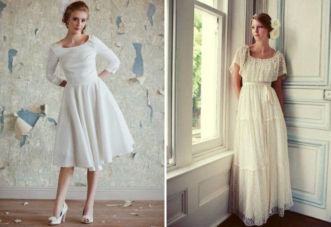 красивые винтажные платья