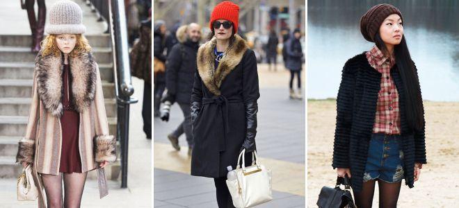 женская шапка под пальто какую шапку носить с классическим