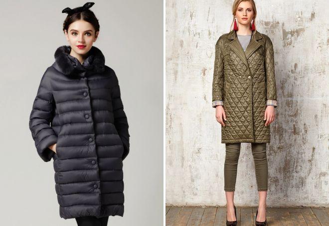 abrigo acolchado capullo