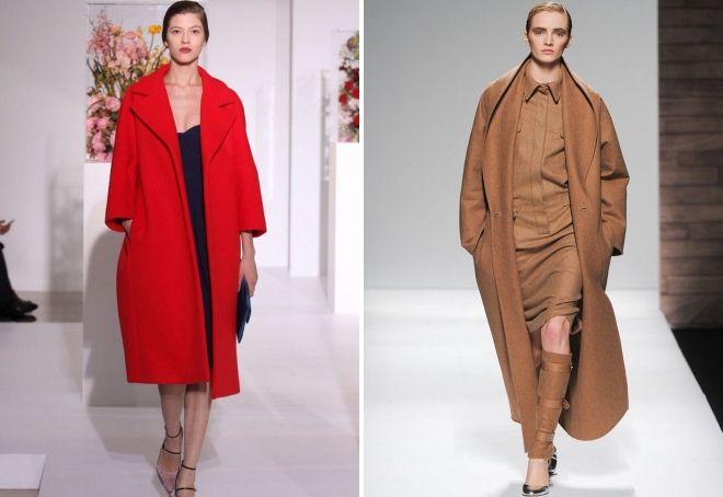 abrigo estilo capullo