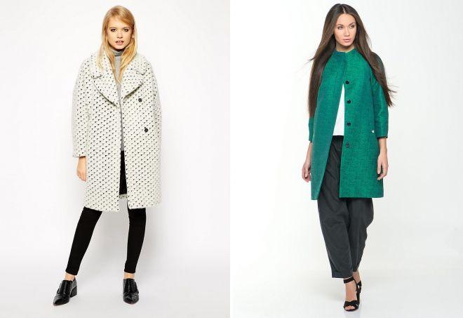 abrigo de mujer capullo