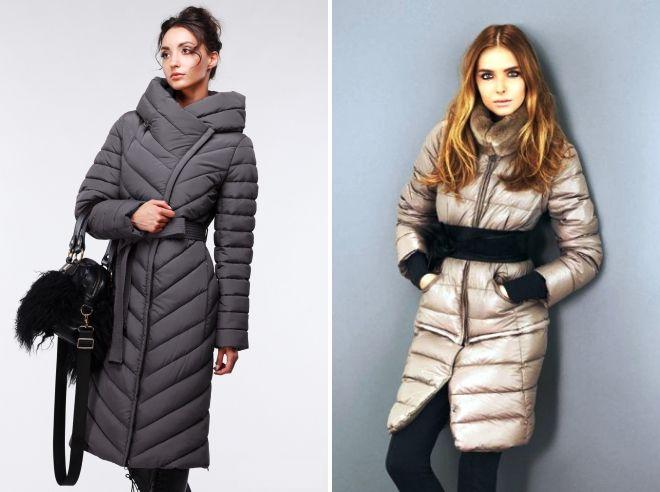 модные пуховики пальто