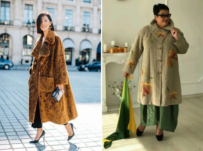 женское пальто бохо