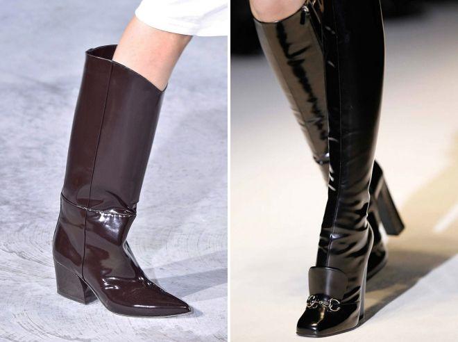 модные зимние сапоги 2018 2019