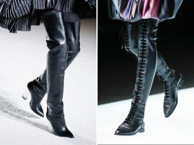 зимние сапоги 2018 2019 года модные тенденции