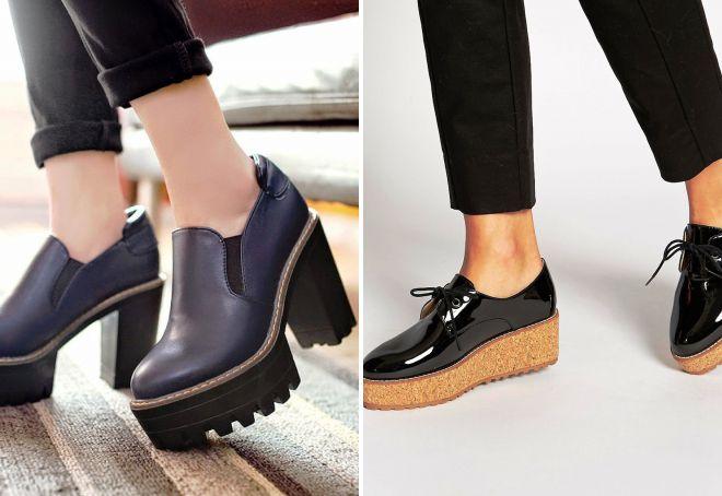женские туфли 2018