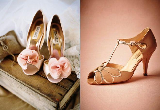 свадебные туфли 2018