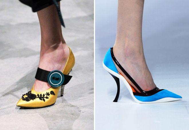 туфли 2018 года модные тенденции