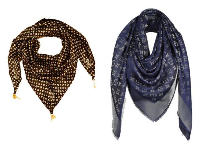 روسری louis vitton با lurex