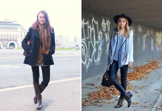 шарф louis vuitton модные образы