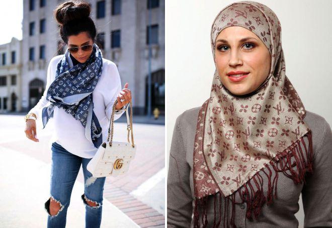 چه چیزی پوشیدن روسری Vuitton لوئیس