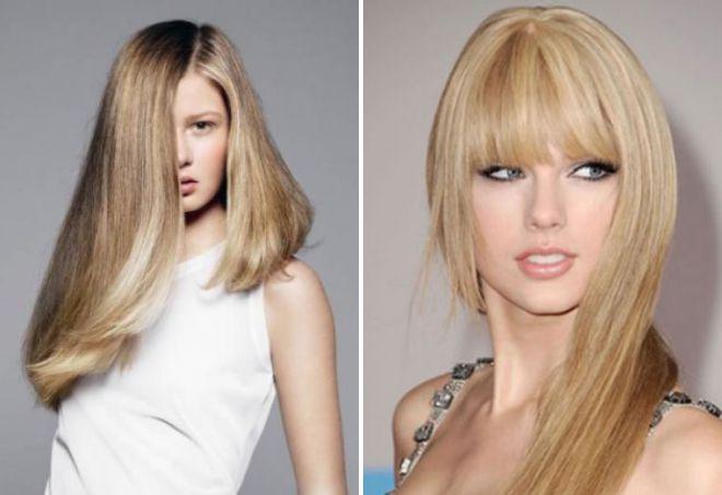 женские стрижки на длинные волосы 2017 2018