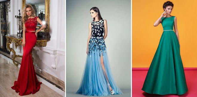 вечерние платья 2018 года модные тенденции
