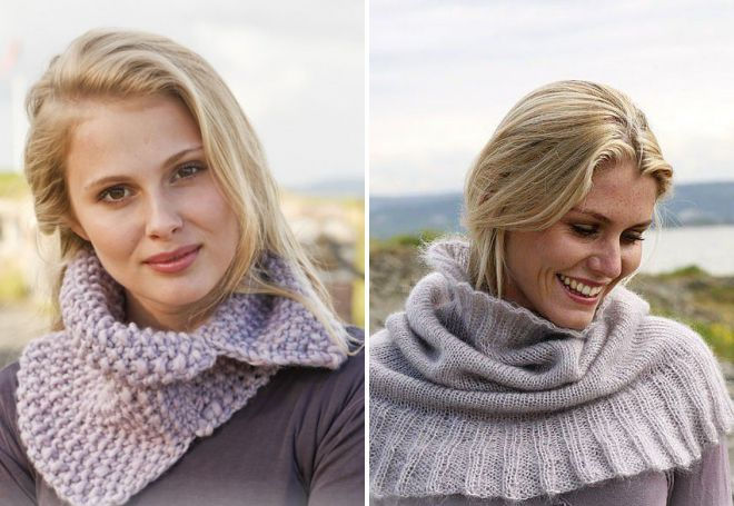 шарф манишка