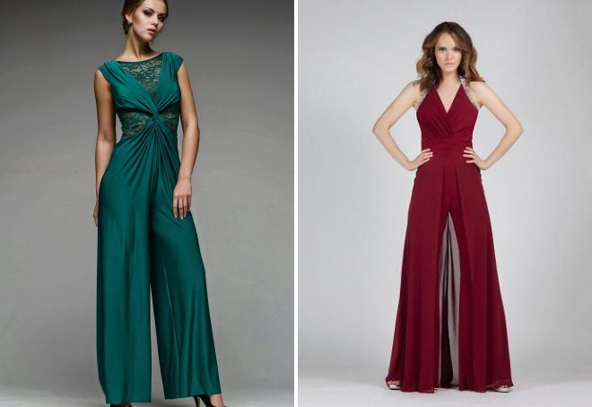 модное платье комбинезон