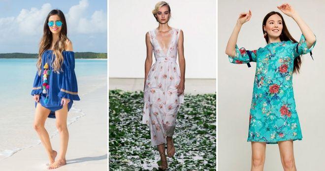 61cf1e1918f8d23 Модные платья весна-лето 2019 года – на каждый день, трикотажные ...