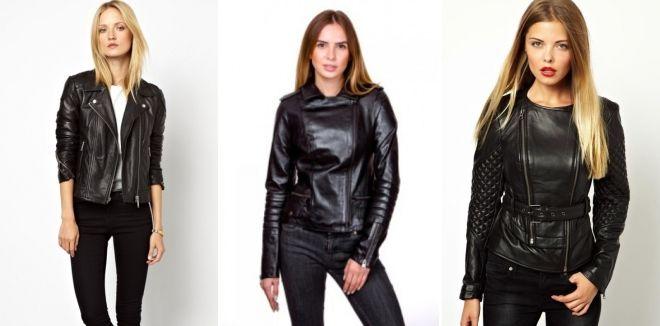 Модные кожаные куртки весна 2019 косуха