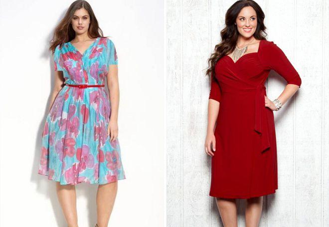 6cb435b4fc7 Фасоны летних платьев для полных женщин – длинные в пол и миди ...