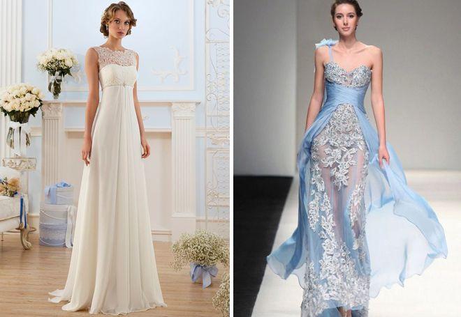 Кружевные греческие платья