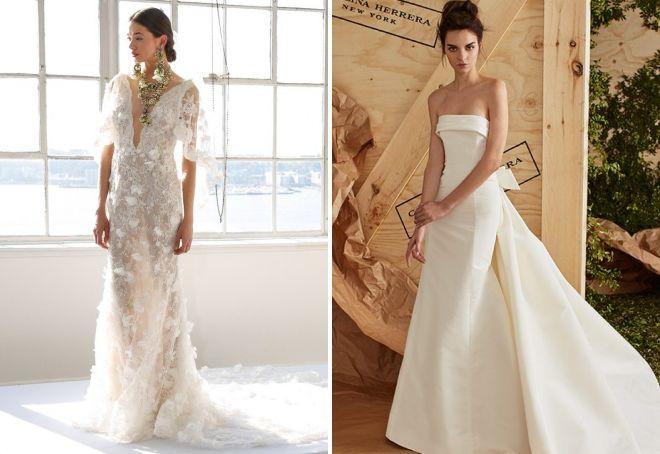 6b3ad1d511a Самые красивые свадебные платья 2018 − модные тенденции