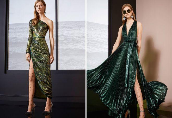 модели платьев на новый год 2018