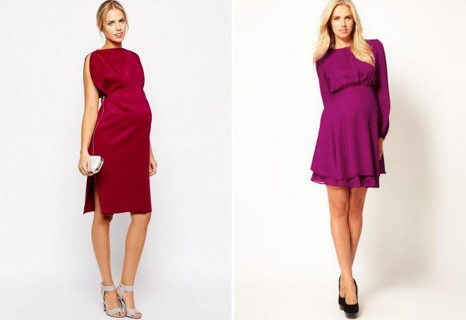 новогодние платья для беременных 2018