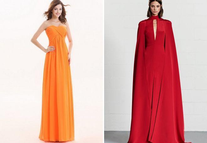 цвет платья на новый год 2018