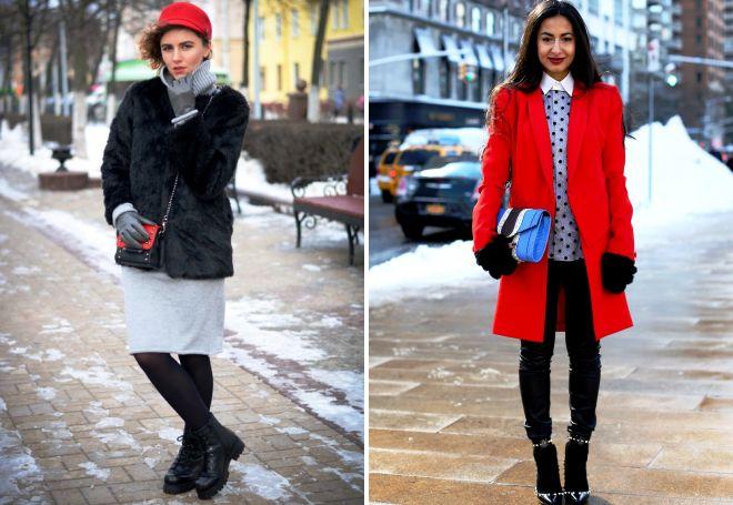 зимние образы для женщин